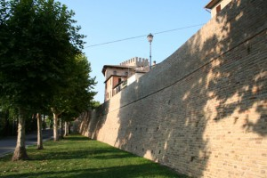 Veduta cinta muraria